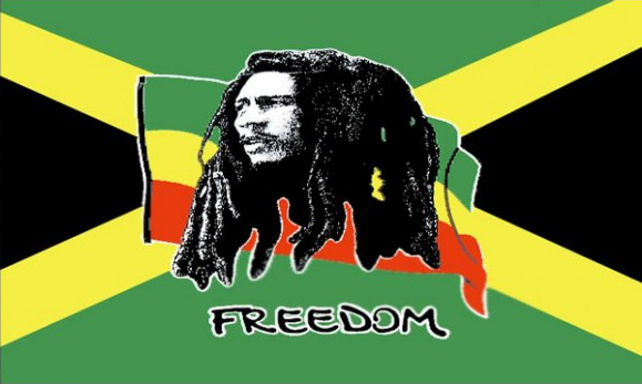 Flag image for Bob Marley Jamaica