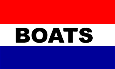 Design of the Boats 1500x900mm Flag