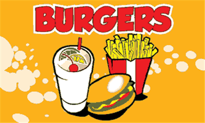 Design of the Burgers 1500x900mm Flag