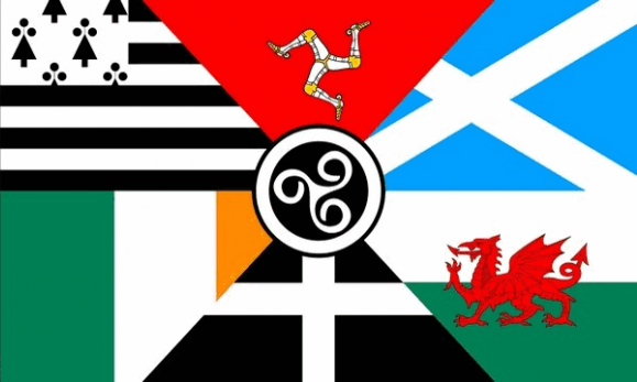 Design of the Celtic Nations 900x600mm Flag