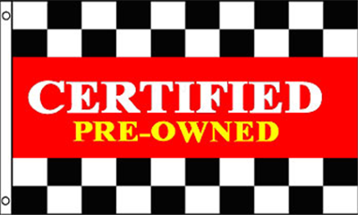 Design of the Certified Preowned 1500x900mm Flag