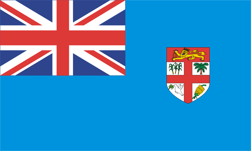 Design of the Fiji 1500x900mm Flag