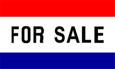 Design of the For Sale 1500x900mm Flag