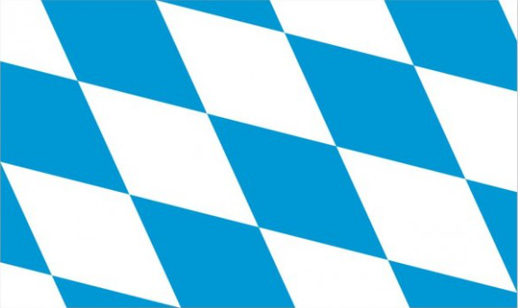Design of the Germany Bavaria 1500x900mm Flag