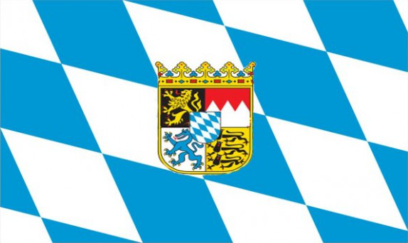 Flag image for Bavaria With Crest