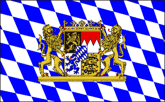 Flag image for Germany Bavaria Lion