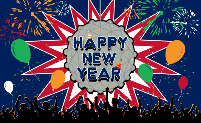 Flag image for Happy New Year Ball