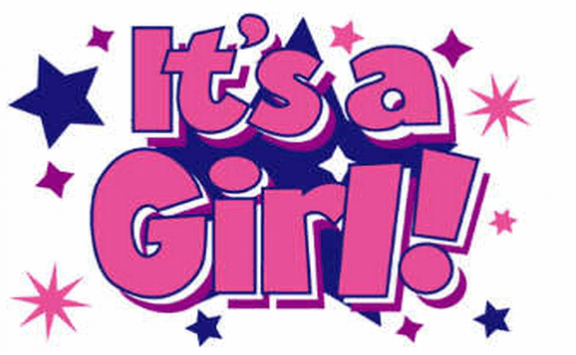 Flag image for Its a Girl with Stars