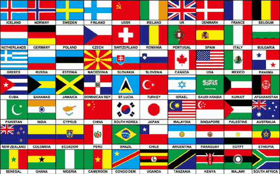 Flag image for Seventy Nations on one flag