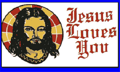Flag image for Jesus Loves You