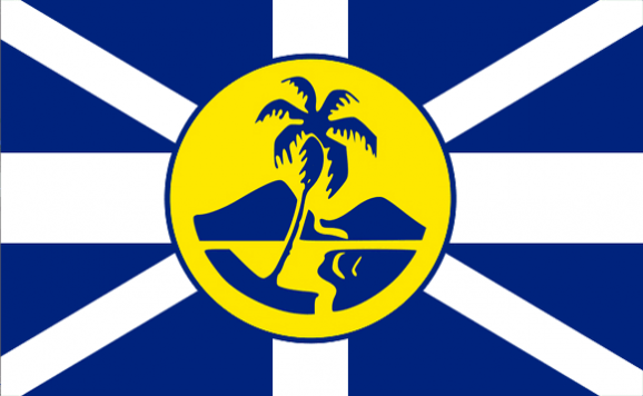 Design of the Lord Howe Island Unofficial 1500x900mm Flag
