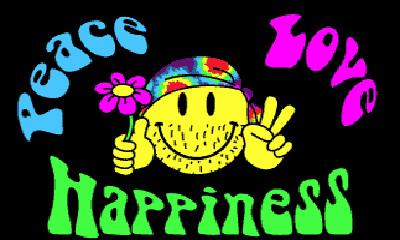Flag image for Peace Love Happiness