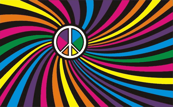 Flag image for Rainbow Swirl Peace