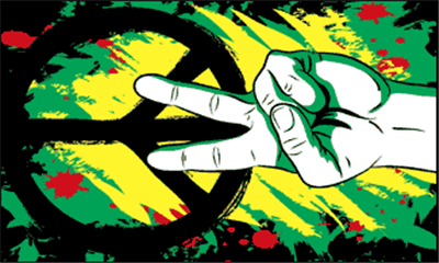 Flag image for Peace Graffiti