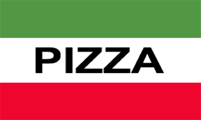 Flag image for Pizza Red White Green