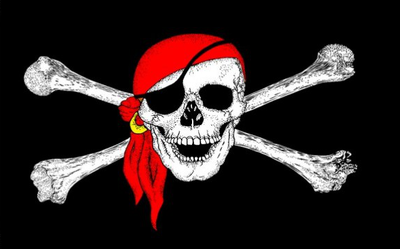 Flag image for Pirate Red Bandanna