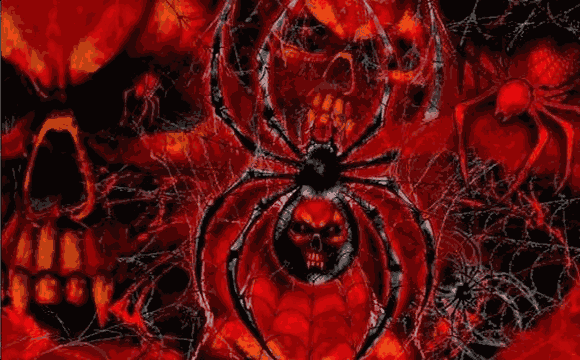 Flag image for Spider with Red Skulls