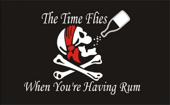 Flag image for The Time Flies When You Are Having Rum