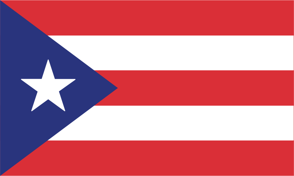 Flag image for Puerto Rico