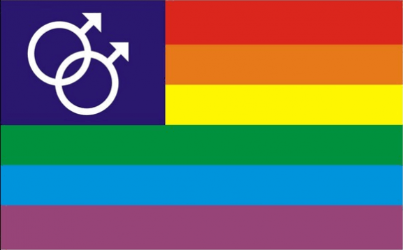 Flag image for Rainbow Mars Male Canton