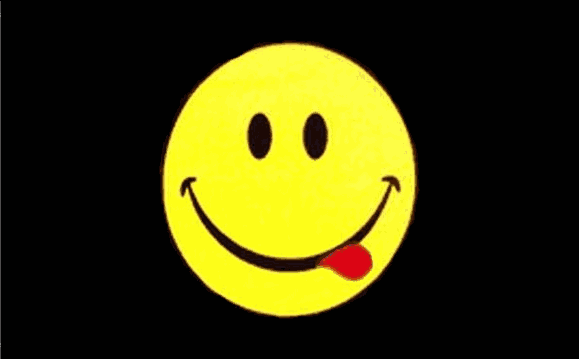 Design of the Smiley Face Acid 900x600mm Flag