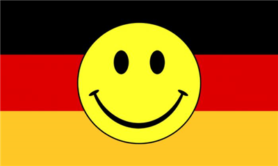 Flag image for Smile Face Yellow On Germany
