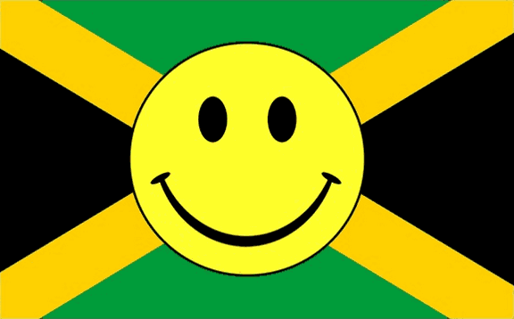 Flag image for Smile Face Yellow on Jamaica