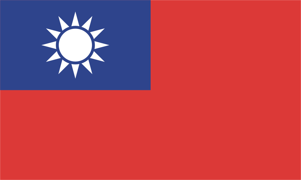 Flag image for Taiwan
