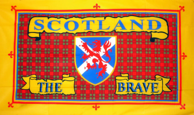 Flag image for Scotland The Brave