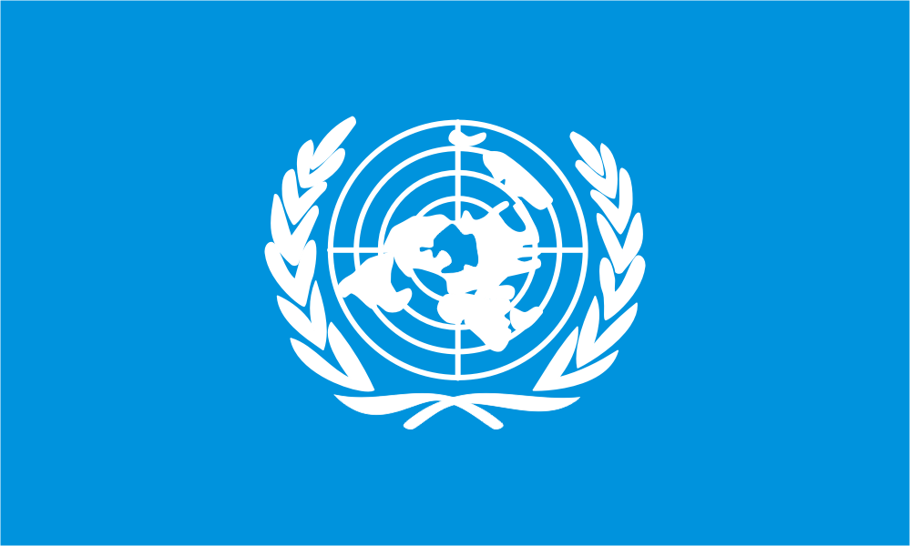 Design of the United Nations 900x600mm Flag