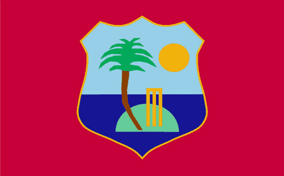Design of the West Indies Cricket Team 900x600mm Flag