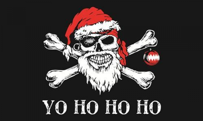 Flag image for Yo Ho Ho Santa Pirate