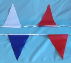 Photo of String Flags Pennant Red White Blue